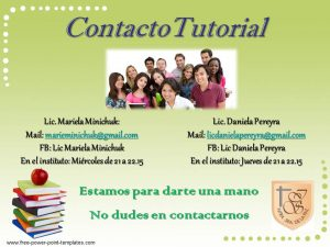 2018 Contacto Tutorial