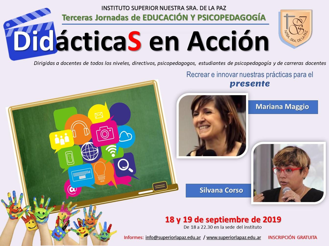 Jornadas DidácticaS en Acción_DAS_2019