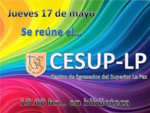 Reunión CESUP 2018